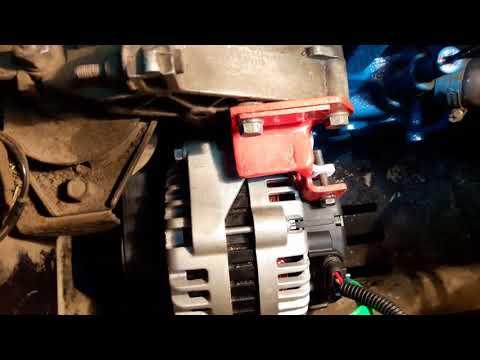 Установка генератора WPS-253 Ампера (часть 3)