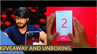 RealMe 2 Budget Smartphone(RETAIL UNIT) with Dual Camera Unboxing & GIVEAWAY | UNBOXING # 17