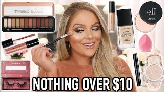 FULL FACE NOTHING OVER $10 | BEST DRUGSTORE MAKEUP
