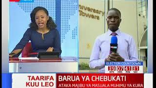Mbiu ya KTN: Barua ya Wafula Chebukati