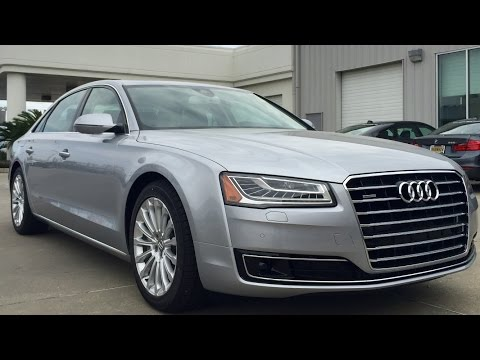 2015 Audi A8 L TDI Diesel Full Review, Start Up, Exhaust