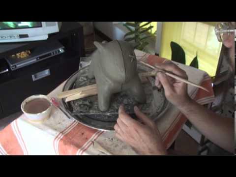 Affronti il pacco con argilla verde per pelle secca