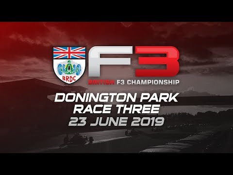 Race three - Donington Park 2019