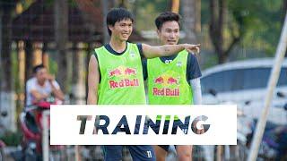Training   Tuấn Anh trở lại, Hoàng Anh Gia Lai hướng đến trận gặp Hà Nội   HAGL Media