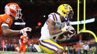 2020 National Championship  #3 Clemson vs #1 LSU