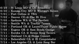 Jeremy Pinnell announces Summer Tour Dates!