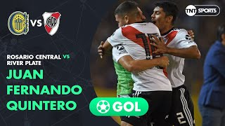 Juan Quintero (0-1) Rosario Central vs River Plate | Fecha 15 - Superliga Argentina 2018/2019