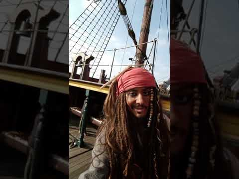Captain Jack Sparrow (look a like)