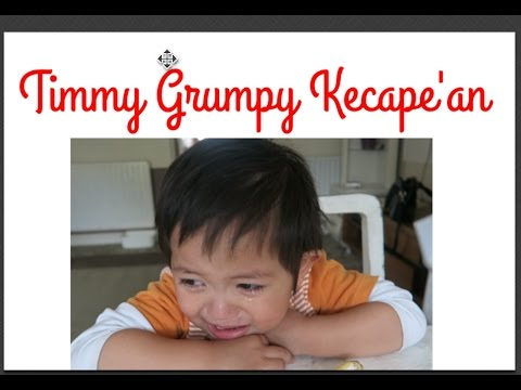 Timmy Grumpy kecape'an |andini overfield