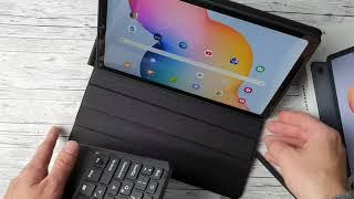 Tab S6 Lite Perfektes Case mit Tastatur und Touchpad
