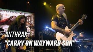 Anthrax Rock Kansas' 'Carry on Wayward Son' - 2017 Loudwire Music Awards
