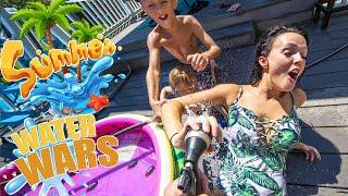 Our HUGE summer Water Battle!!