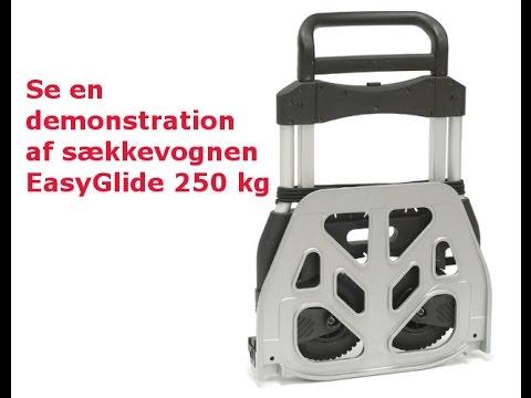Sammenklappelig sækkevogn EasyGlide 250 kg