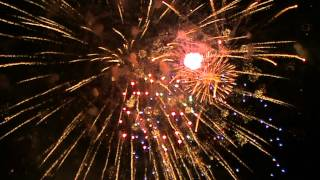 preview picture of video 'Vuurwerk Blanes 2012'