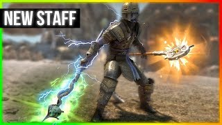 Skyrim - The Best Staff to create ABSOLUTE CHAOS in Whiterun with!