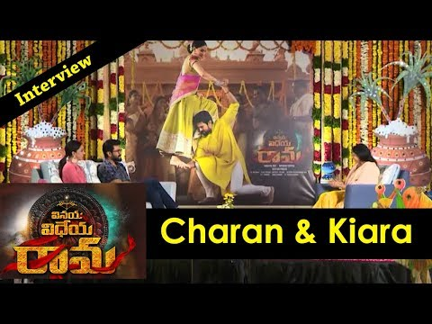 ram-charan-and-kiara-advani-interview-about-vinaya-vidheya-rama-movie