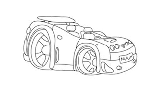 How To Draw A Sport Car Step By Step Easy Free Online Videos Best
