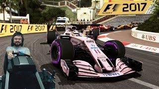 Это фиаско... Гран-при Монако F1 2017 Force India Fanatec ClubSport