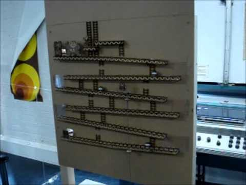 Enjoy The Old-Time Feel Of This Amazing Mechanical Donkey Kong Machine