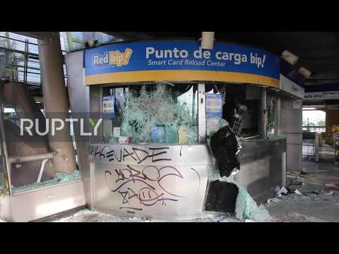 Chile: Santiago declares state of emergency as violent protests rock city