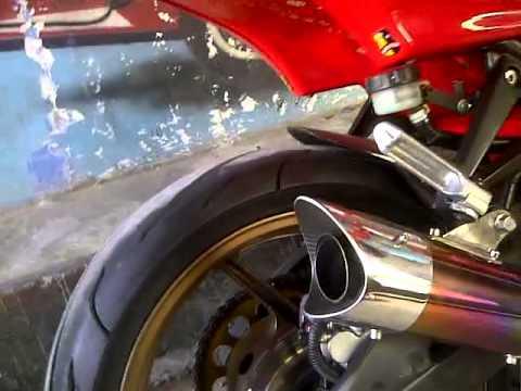 knalpot akrapovic untuk 150 cc dan 250 cc