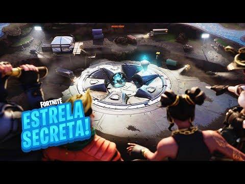 ESTRELA/ESTANDARTE DE BATALHA SECRETA SEMANA 10 TEMPORADA 8 DE FORTNITE