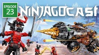 Ninjago LEGACY Set Pictures and New 2019 Movie | NinjagoCast #24