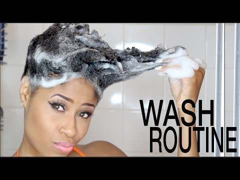 Video Natural Hair | WASH DAY ROUTINE (Start to Finish!)