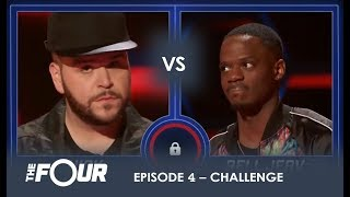 Nick vs Rell: Two Rappers THROWDOWN And It's a Bloody WAR!  | S1E4 | The Four