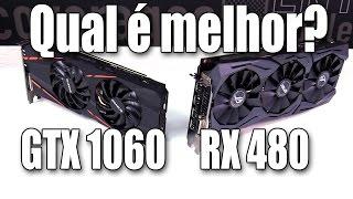 RX 480 vs GTX 1060: quem é a melhor?