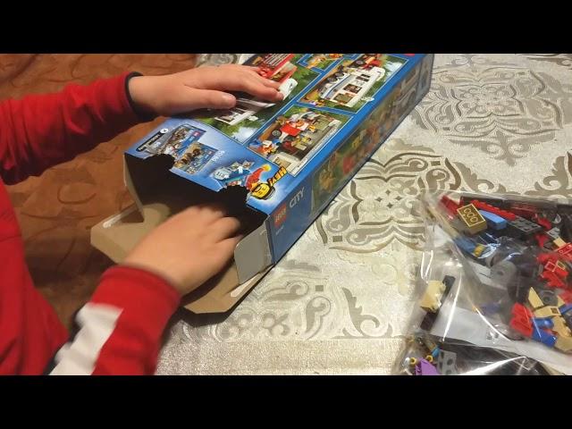 Обзор конструктора Лего 60182 из