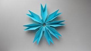 Цветок из бумаги. Поделки оригами на 8 марта, день влюбленных