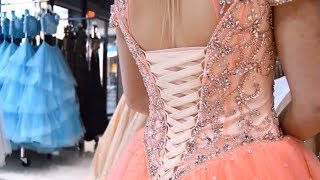 HOW TO: Lace Up A Corset Dress - Rsvp Prom And Pageant