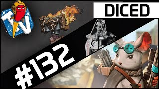 DICED - Die Tabletopshow auf Rocket Beans TV #132 | Aftermath | Super Fantasy Brawl | DICED