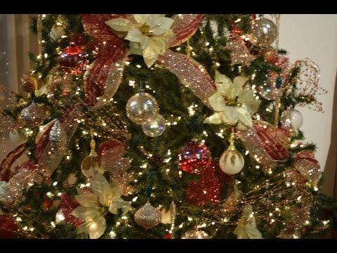 Una Manera Hermosa De Decorar el Árbol De Navidad