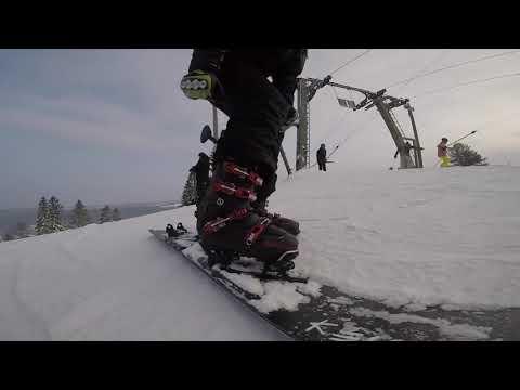 Alpine Snowboard GoPro