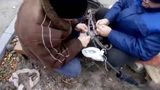 Перемонтаж кабеля ТПП 100x2