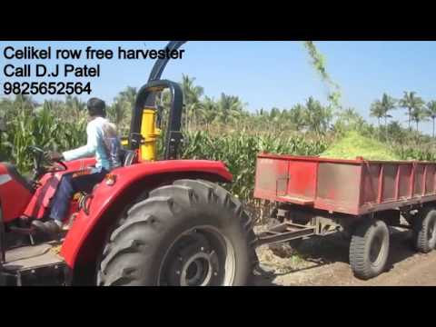 Single Row Forage Harvester