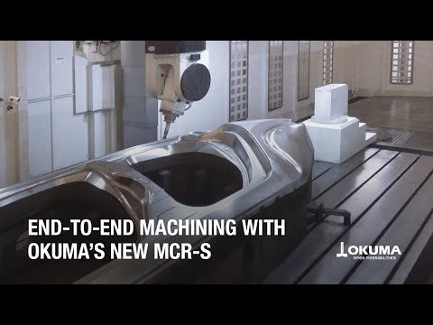 Okuma MCR-S Double Column Machining Center