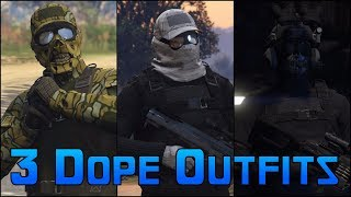 3 SMUGGLERS RUN MODDED OUTFITS IN GTA ONLINE 1.41 - Sniper,Cobble Camo,Shadow Company