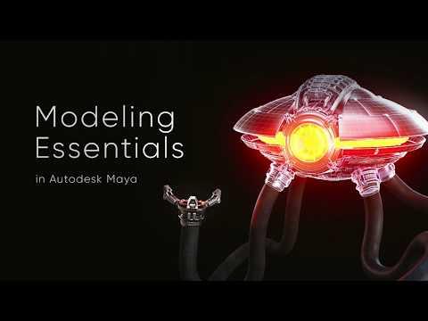Modeling Essentials in Autodesk Maya - online course