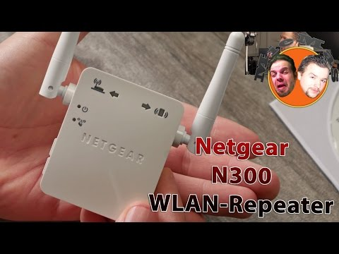 Netgear N300 WLAN-Repeater [Deutsch] 4K