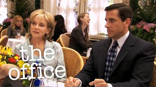 Michael Dumps Pam's Mom - The Office US