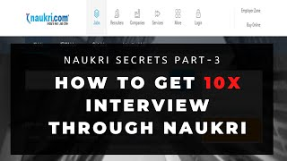 Key Skills- How to find yours? Naukri Tutorial Part 3