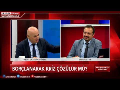 Başkent Kulisi-  16 Mayıs 2018 -Prof. Dr. Emin Gürses - Erdem Atay- Ulusal Kanal (видео)