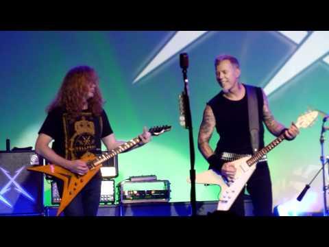 Concierto Metallica & Dave Mustaine