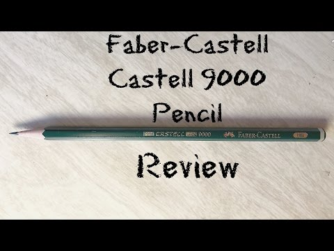 Faber-Castell Castell 9000 HB Graphite Sketch Pencil Review