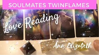 Soulmate Twin Flame Energy Reading - Listen to your Intuition the Divine Union is near!