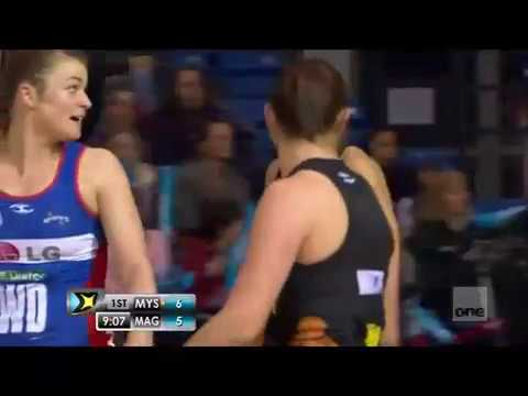 NETBALL 2012 ANZ CHAMPIONSHIP -  ROUND 12: MYSTICS vs MAGIC
