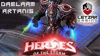 Heroes of the Storm (Gameplay) - Daelaam Artanis Skin (HotS Artanis Gameplay)